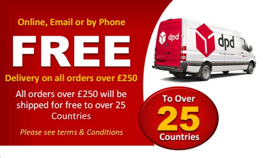 UK & European Shipping