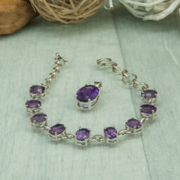 Faceted Amethyst class=